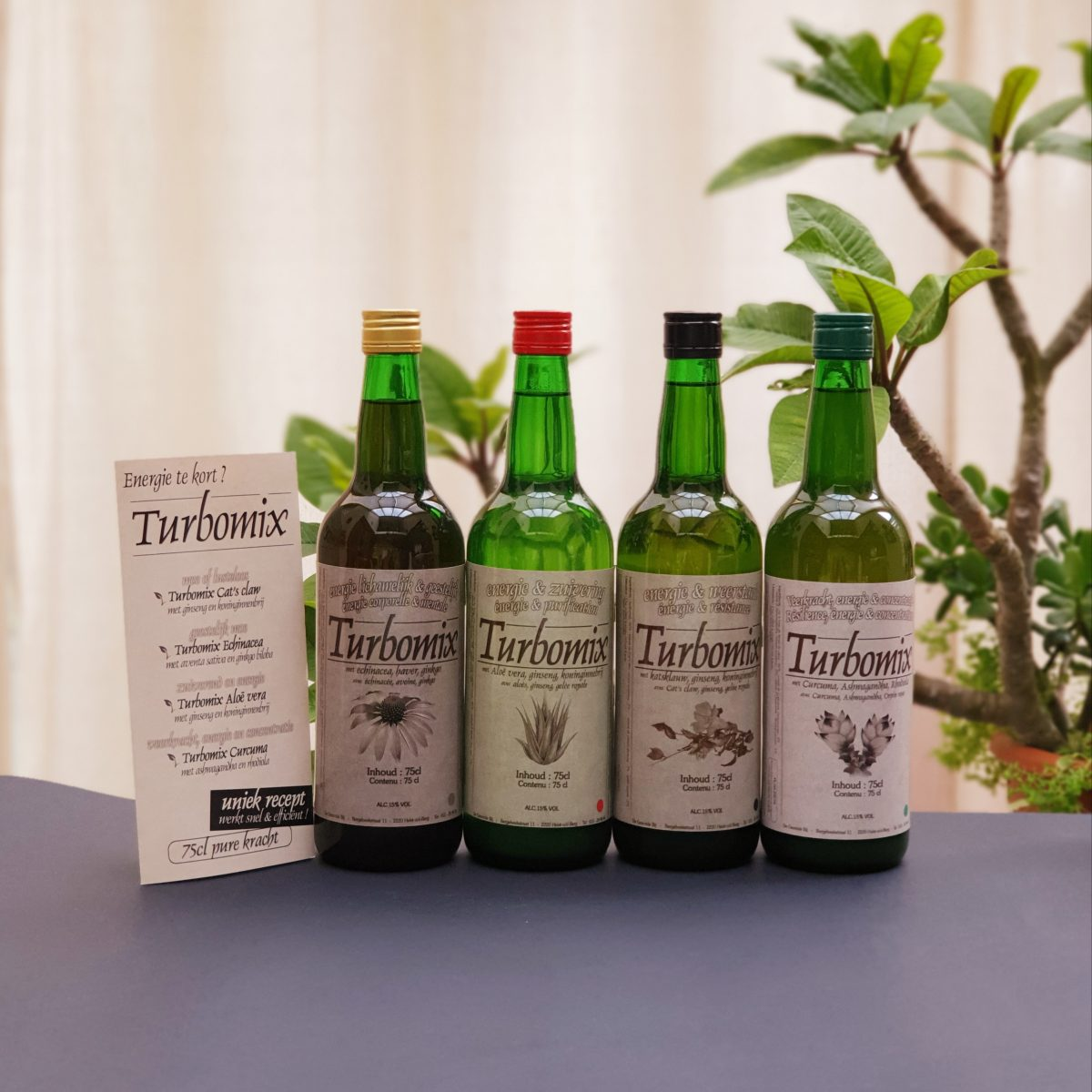Turbomix 4 flessen